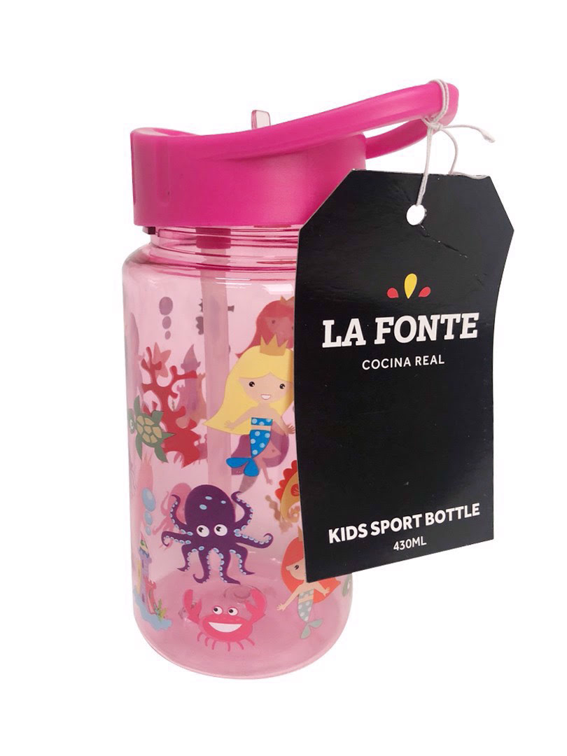 Bình nước uống thể thao trẻ em Lafonte - 000808