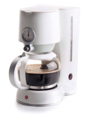 Máy pha cà phê Lacor 1.25 lít 1080w màu trắng - 69393