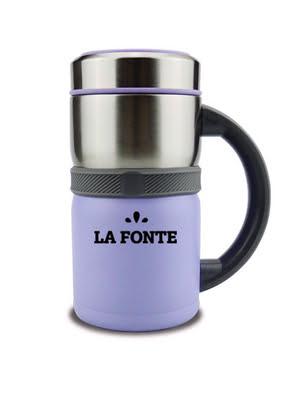 Bình giữ nhiệt La Fonte 450ml màu tím - 3000730