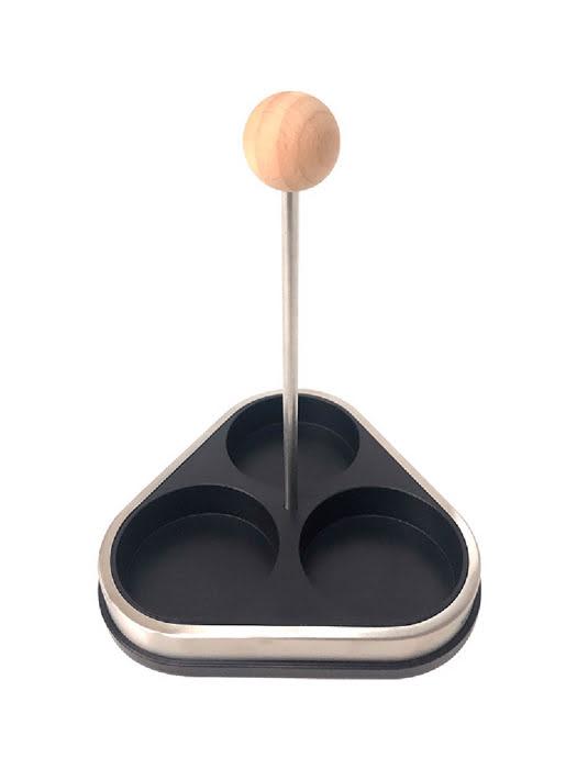 Bộ đựng gia vị bằng thủy tinh 3 món Moriitalia