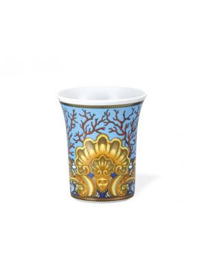 Bình hoa Versace Les Trésos De La Mer bằng sứ 18cm - 102817.26018