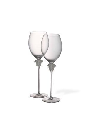 Bộ ly rượu thuỷ tinh Versace Medusa Lumiere 2 cái - 110835.48802