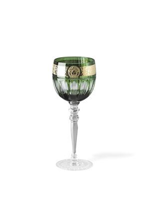 Ly thuỷ tinh white wine bằng sứ Versace Green - 320668.40300