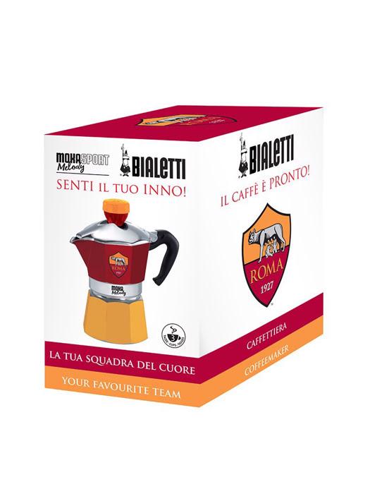 Bình pha cà phê thể thao AS Roma Bialetti Moka Melody 3 cup - 990004372