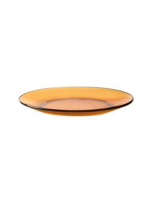 Đĩa thuỷ tinh tráng miệng Duralex Lys Vermeil 19cm màu đỏ 3008DF06C1111