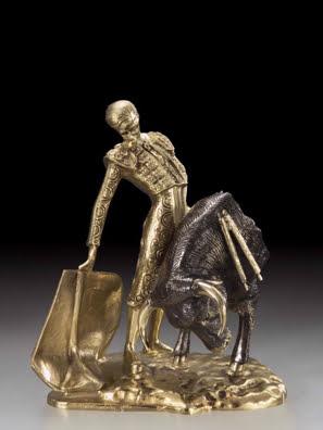 Tượng đồng dũng sĩ đấu bò Tây Ban Nha Virtus - 1842