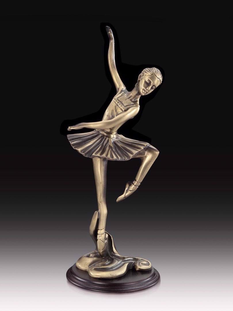 Tượng cô gái múa ba lê bằng đồng Virtus - 2216