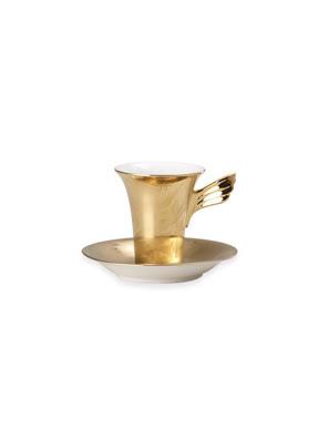 Bộ tách trà bằng sứ Versace Vanity La Dorée - 403627.14740