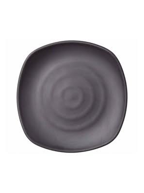 Dĩa melamin Kormel 250x250mm màu đen E10580.B