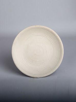 Dĩa tròn melamin Kormel 90x31mm màu kem E10705