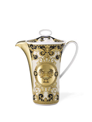 Bình cà phê Versace Prestige Gala bằng sứ