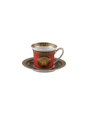 Bộ tách cà phê Espresso Versace Medusa 1 tách  và 1 đĩa - 409605.14715