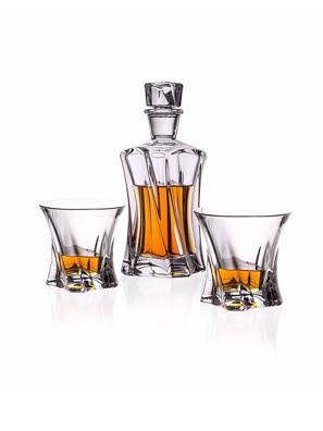 Bộ bình ly rượu Whisky Cooper - Bohemia