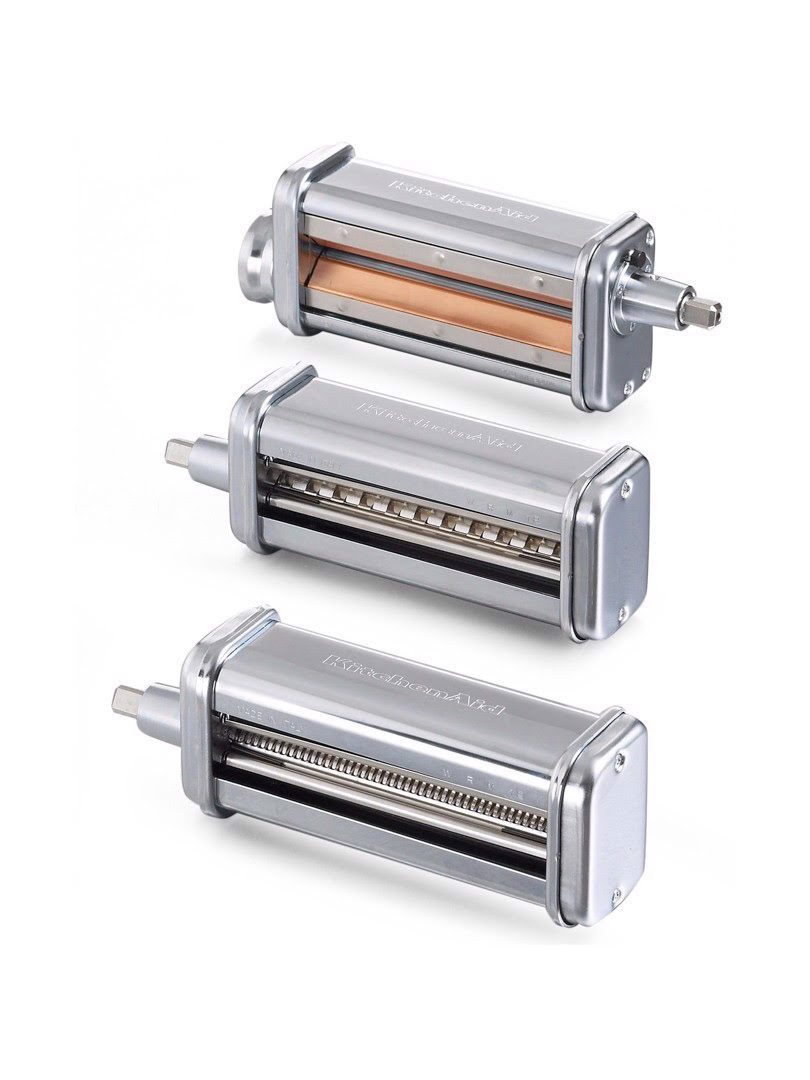 Bộ 3 dụng cụ cán và cắt sợi mì KitchenAid