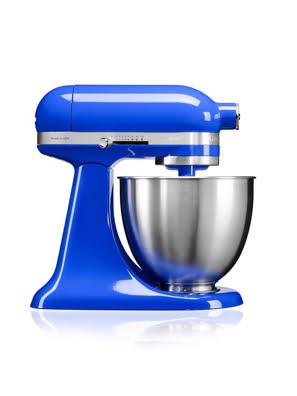 Máy trộn đứng đầu nghiêng KitchenAid Artisan® Mini 220V xanh dương