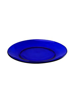 Đĩa thuỷ tinh tráng miệng Duralex Lys Saphir 19cm màu saphir - 3008FF06C1111