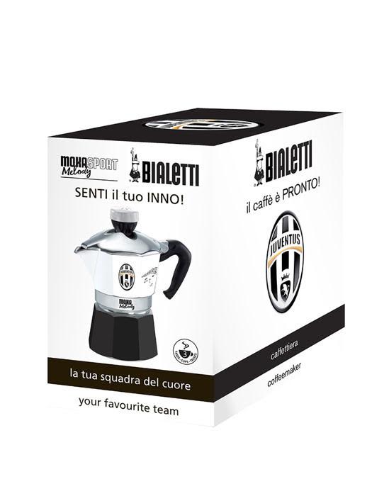 Bình pha cà phê thể thao Juvetus Bialetti Moka Melody 3 cup - 990004362