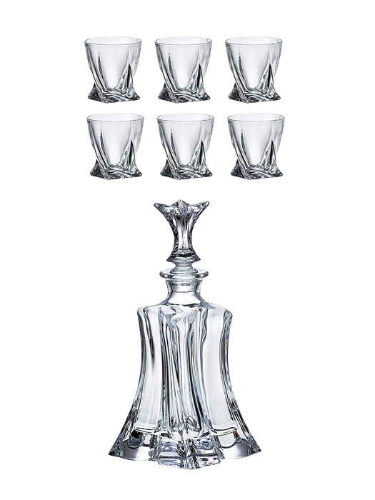 Bộ bình ly rượu Whisky Florale - Bohemia