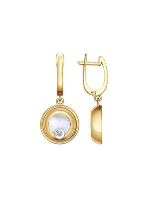 Bông tai hình giọt lệ đính kim cương 1021077No1730