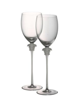 Bộ 2 ly thuỷ tinh uống nước Versace Medusa Lumiere - 110835.48814