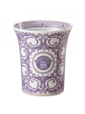 Bình hoa bằng sứ Versace Grand Divertissement 18cm - 403625.26018