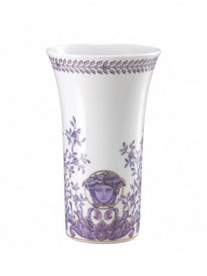 Bình hoa bằng sứ Versace Grand Divertissement 26cm - 403625.26026