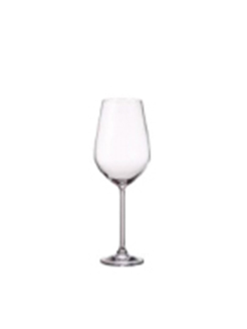 Bộ 6 ly rượu đỏ Globo - Bohemia Crystal