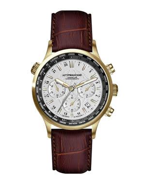 Đồng hồ đeo tay Sturmanskie Traveller GMT Chrono Quartz VD53/3386880