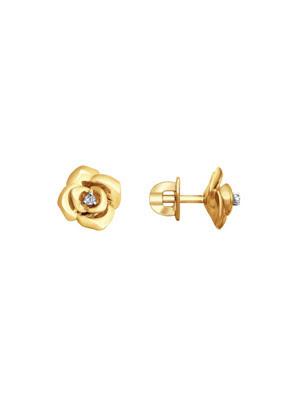 Bông tai vàng Sokolov đính kim cương - 1021202No1883
