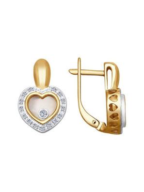 Picture of Bông tai mạ vàng đính đá quý 1021168No17166
