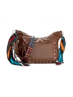 Túi xách đeo vai nữ Desigual BAGS LEATHER BROWN Size U - 17WAXPNX6091U