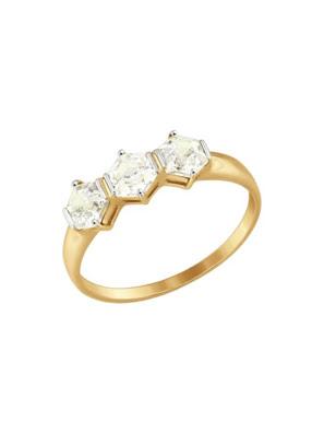 Nhẫn vàng đính đá Swarovski Zirconia 81010338