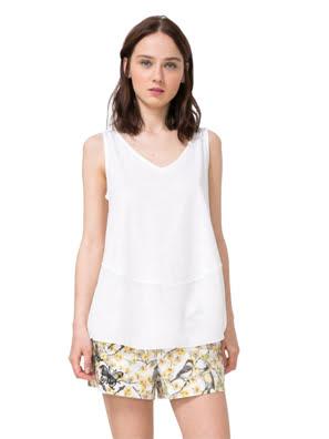 Áo ngắn tay nữ T-SHIRT size S CRUDO - 74T2WN51001S