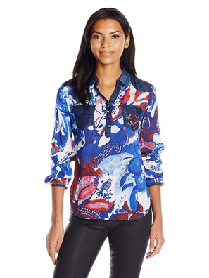Picture of Áo dài tay Desigual size S - 72B2EH85102S