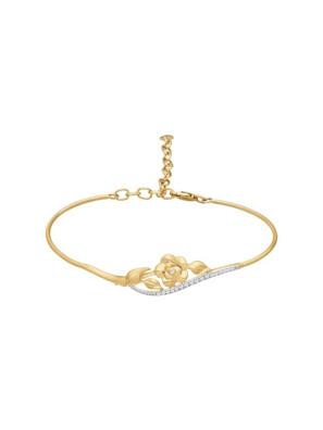 Picture of Vòng đeo tay vàng đính kim cương zirconia - 050902