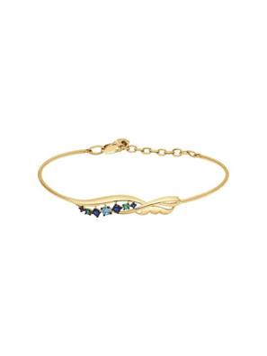 Picture of Vòng đeo tay vàng kim cương zirconia - 050916