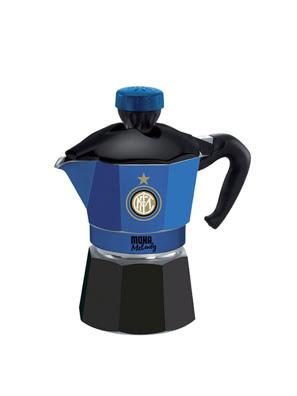 Bình pha cà phê thể thao Inter Milan Bialetti Moka Melody 3 cup - 990004252