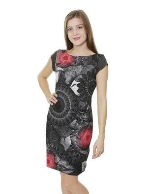 Đầm nữ Desigual GRIS VIGORE OSCURO - 67V20Y12043