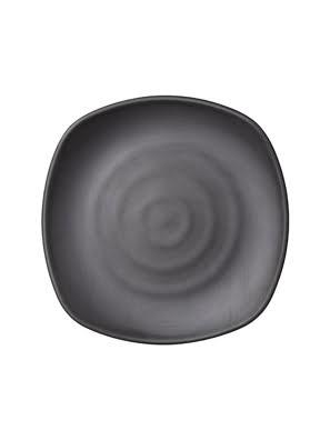 Dĩa melamin Kormel 223x223mm màu đen - E10579.E10580B