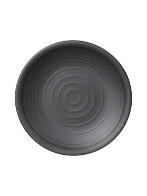 Picture of Dĩa tròn melamin Kormel 255mm màu đen - E10470.B