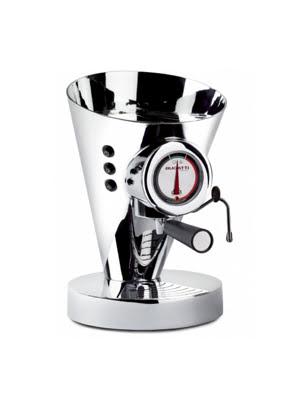 Máy pha cà phê Bugatti Diva Evolution màu chrome 15-EDIVACR