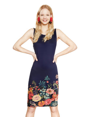 Đầm DRESS size XS NAVY - 18SWVKA45000XS