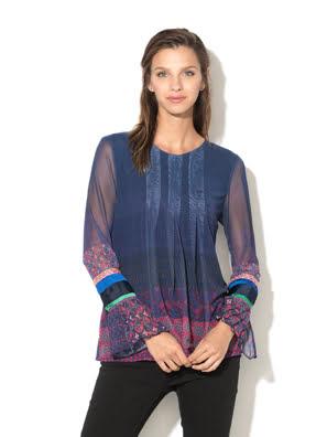Áo thun dài tay nữ T-SHIRT Size L MARINO - 17WWTKK45001L