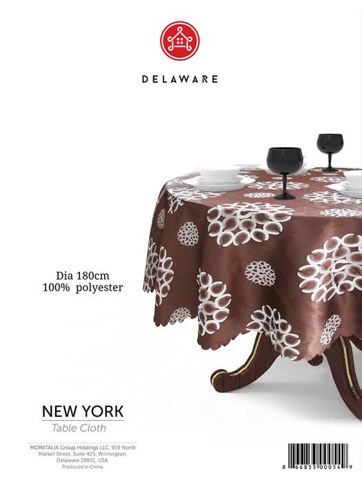 Khăn trải bàn Delaware 180cm - 3000549
