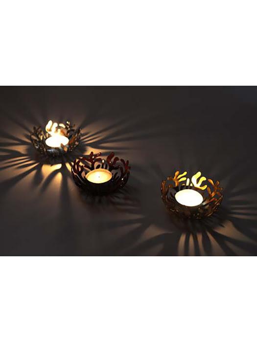 Khay đèn tạo kiểu ánh sáng Alessi