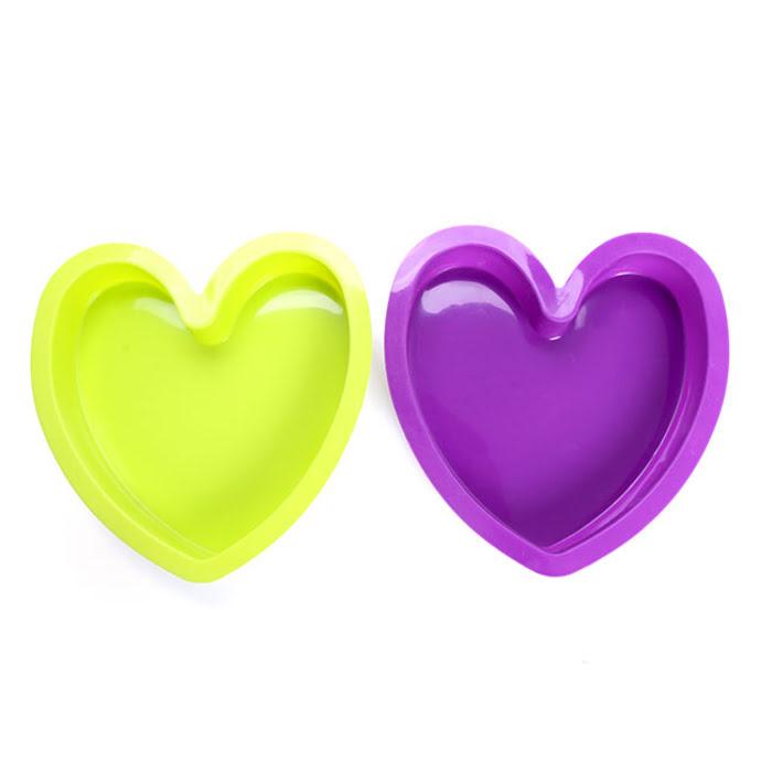 Khuôn bánh silicone hình trái tim La Fonte YY20383