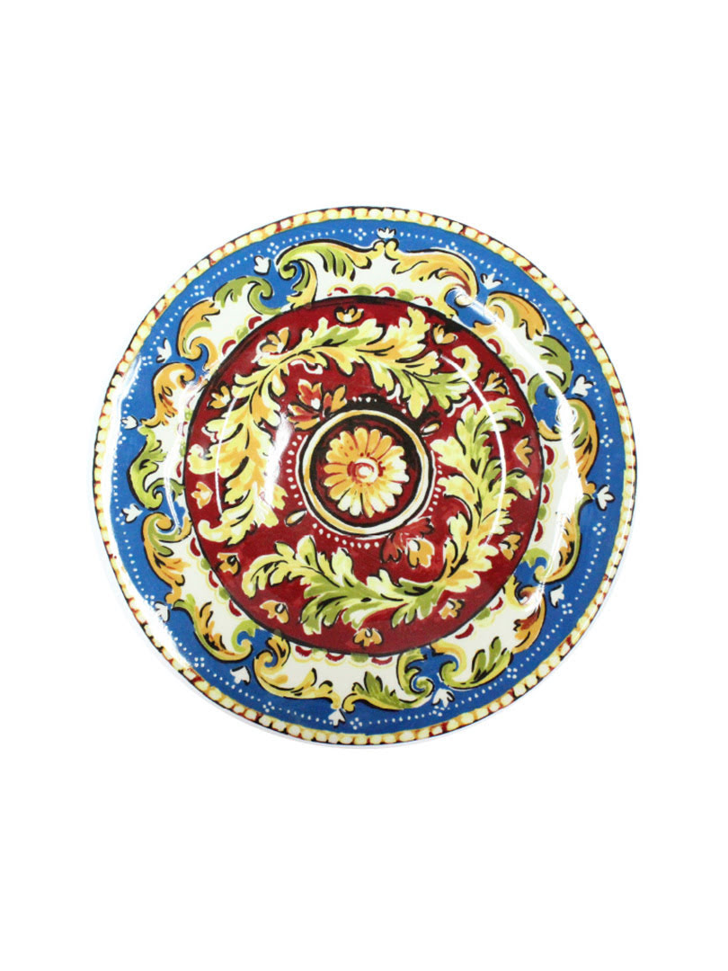 Dĩa sứ Oberon Blue 28cm Moriitalia - 41110