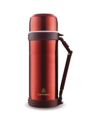 Bình giữ nhiệt inox Carlmann 1.5L màu đỏ - QE-5032