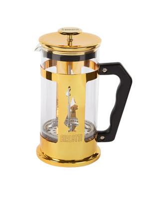 Picture of [MỚI] Bình pha cà phê Bialetti Press kiểu Pháp Preziosa Gold Collection màu vàng 1 lít - 0006850