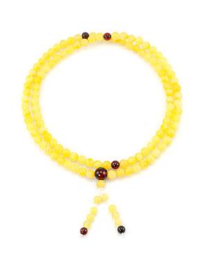 Chuỗi tràng hạt mân côi trang sức Amber Jewelry bằng đá hổ phách (Rosary of amber) - 5059109180